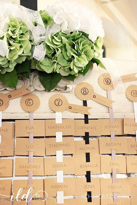 Sitzplan-Hochzeit