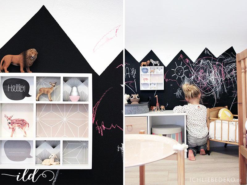 Wie aus einem babyzimmer ein kinderzimmer wird inkl - Tafelwand kinderzimmer ...