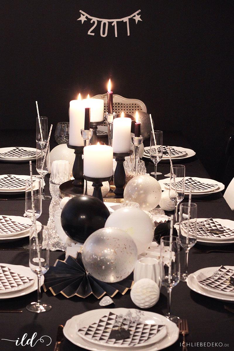 Tischdeko-für-Silvester