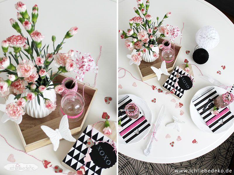 ideen zum valentinstag ich liebe deko. Black Bedroom Furniture Sets. Home Design Ideas