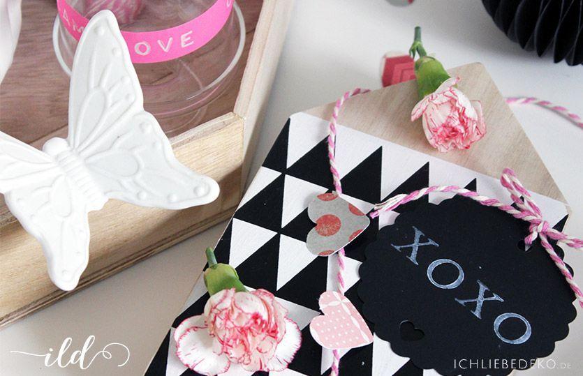 die schnellste tischdeko zum valentinstag ich liebe deko. Black Bedroom Furniture Sets. Home Design Ideas