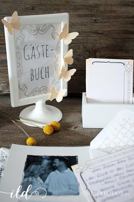 Vintage-Gästebuch