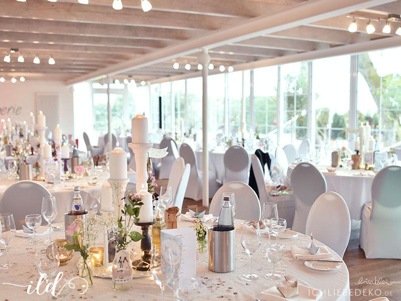 Romantische Hochzeit im Travel-Look • Ich Liebe Deko