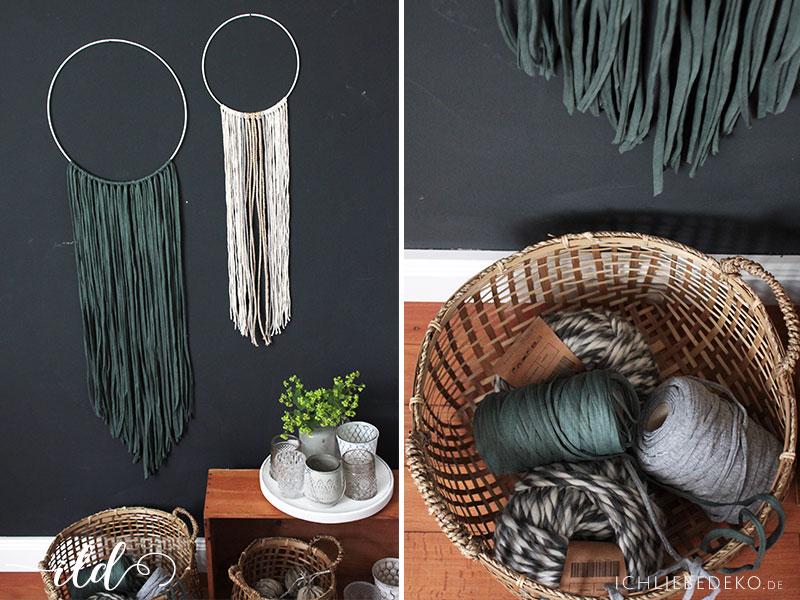 Wanddekoration mit diy makramee im ethno look ich liebe deko for Wanddekoration babyzimmer