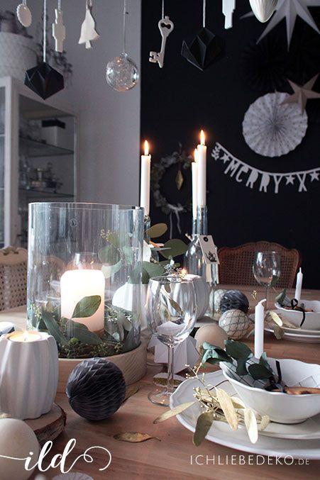 Weihnachtsdeko-im-Schwarz-Weiß-Look