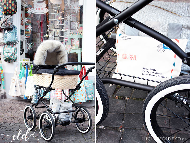 Weihnachtsshopping-mit-Kinderwagen