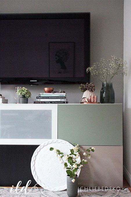 Wandgestaltung mit Alpina - Flur & Wohnzimmer im neuen Look ...