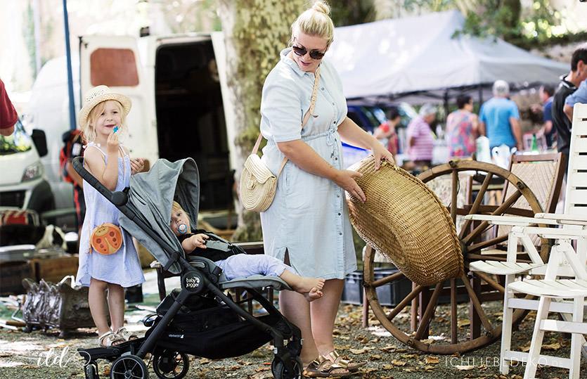 Urlaub mit Kindern in Frankreich und dem Baby Jogger City Tour LUX