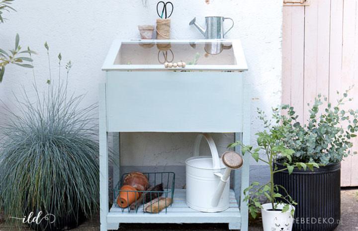 mini gewchshaus dekorieren fabulous kleines gewchshaus selber bauen mini treibhaus aus with. Black Bedroom Furniture Sets. Home Design Ideas