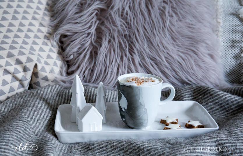 DIY Tasse im Marble Look als Last Minute Weihnachtsgeschenk