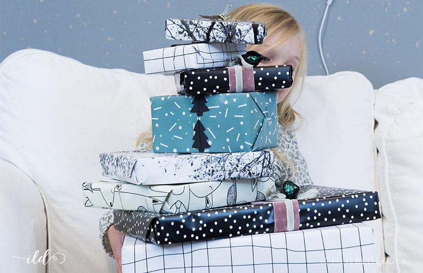 Kreative Weihnachtsgeschenkverpackung – 3 trendy Ideen