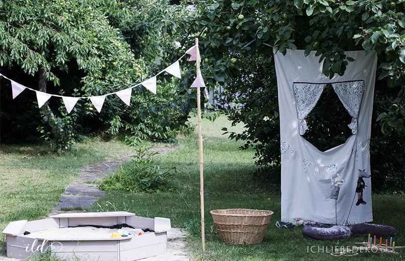 Sommerzeit mit Kindern – privater Spielplatz im Garten
