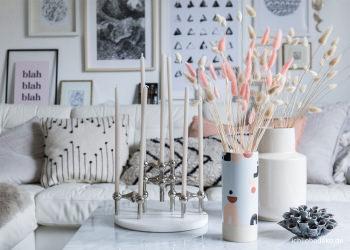 Perlen deko ideen mit WC dekorieren: