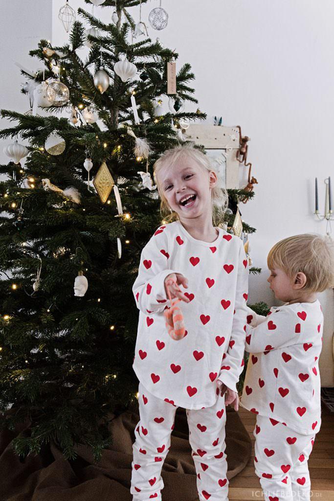 Weihnachten im Pygama Partnerlook