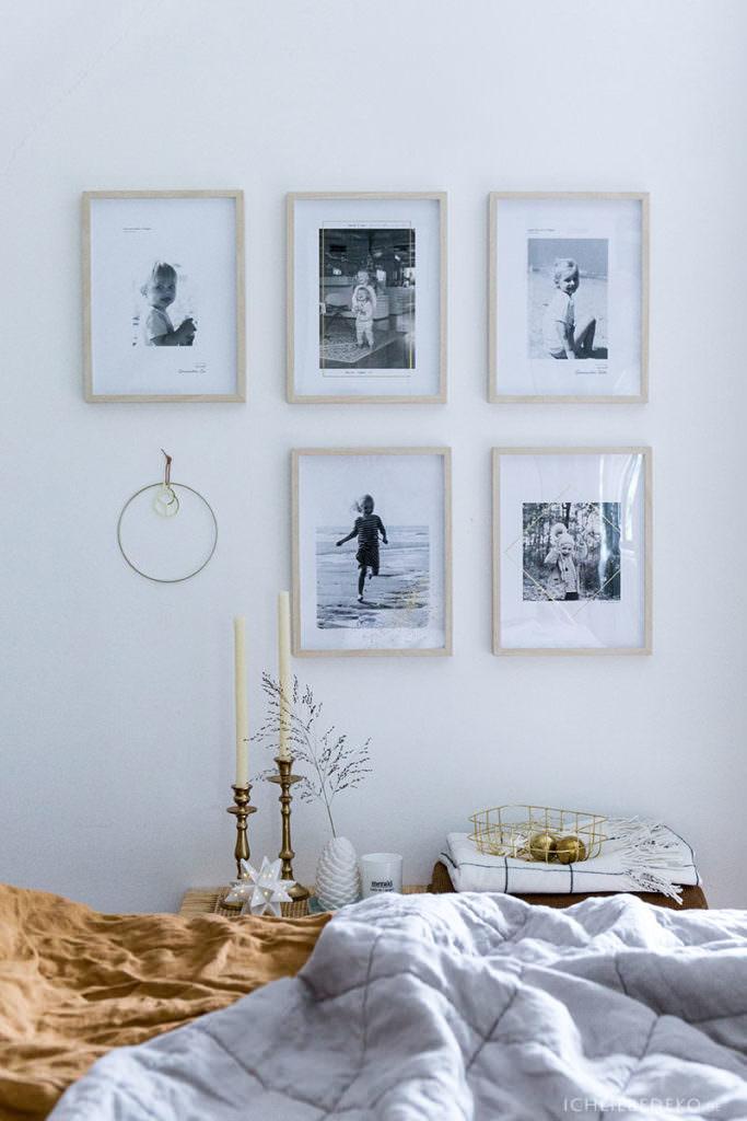 Bildergalerie mit Kinderbildern in Schwarz-Weiß