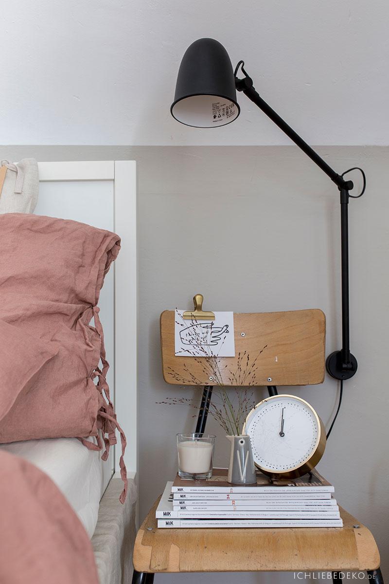 Beleuchtung im Schlafzimmer