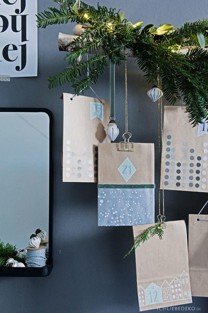 selbstgemachter adventskalender mit gutscheinen f r den mann ich liebe deko. Black Bedroom Furniture Sets. Home Design Ideas