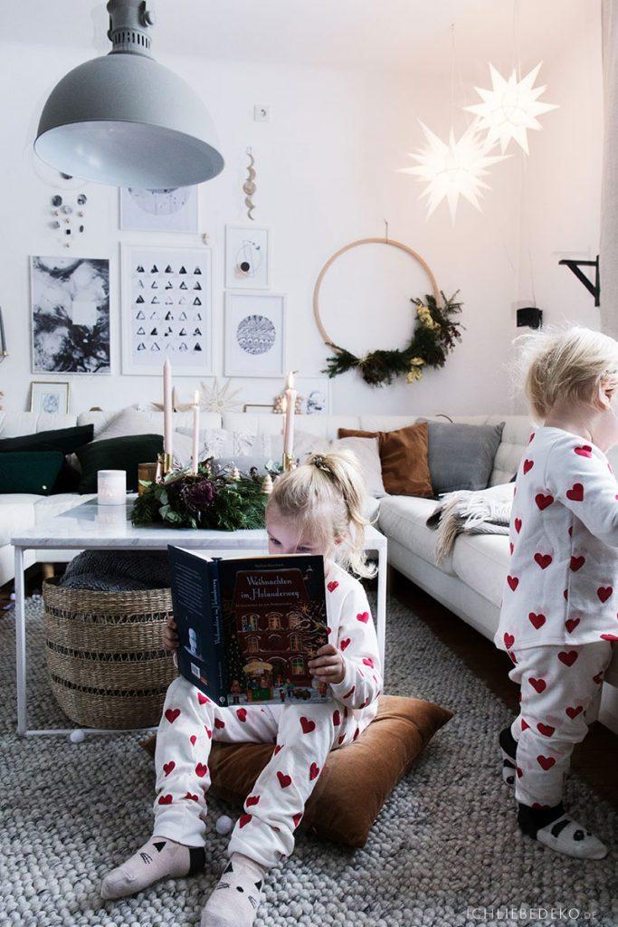 gemütliche Weihnachten Zuhause mit Kindern
