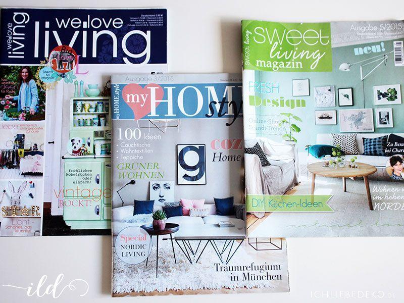 ichliebedeko-in-einer-Zeitschrift