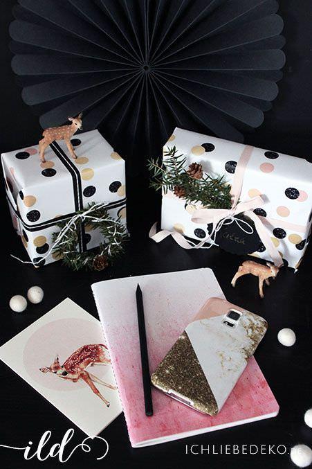 kreative geschenkverpackung f r weihnachten ich liebe deko. Black Bedroom Furniture Sets. Home Design Ideas