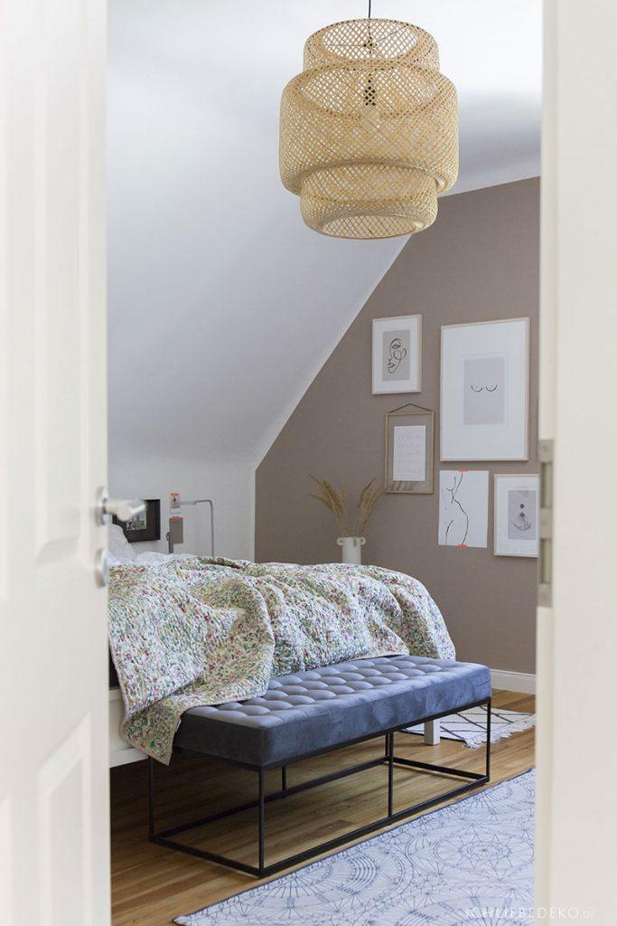 kleiner Einblick ins Schlafzimmer