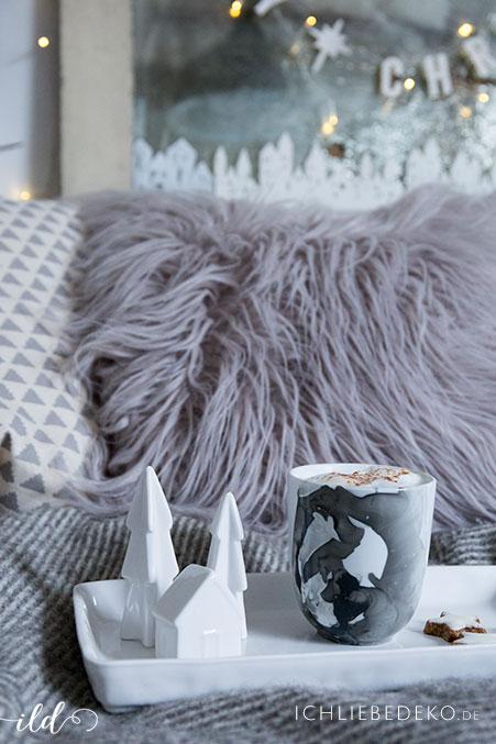 diy tasse im marble look als last minute. Black Bedroom Furniture Sets. Home Design Ideas