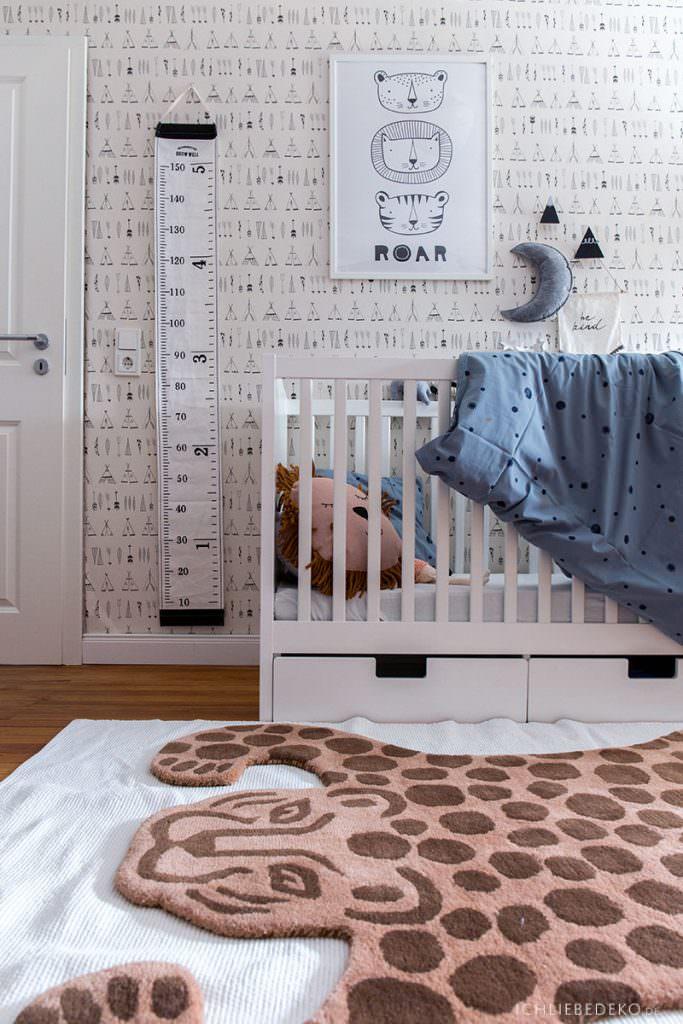 leopardenteppich-von-ferm-living-im-kinderzimmer