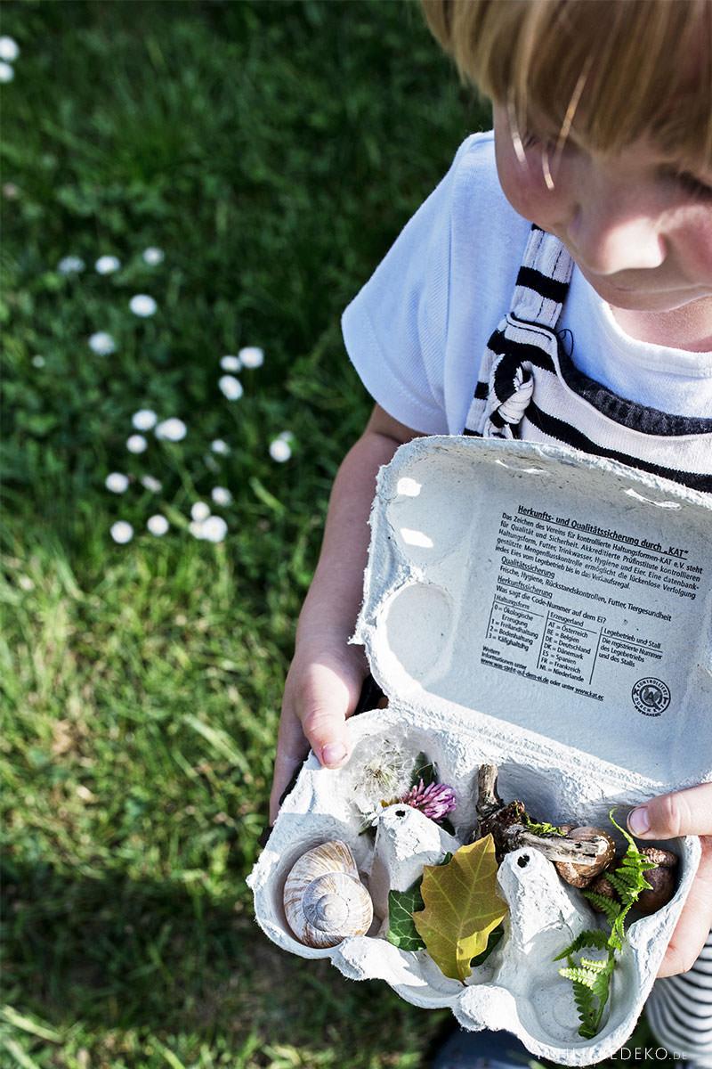 Naturbingo für Kinder selbst machen