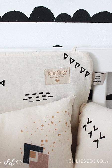 Besserer Schlaf für das Baby mit nobodinoz cushions