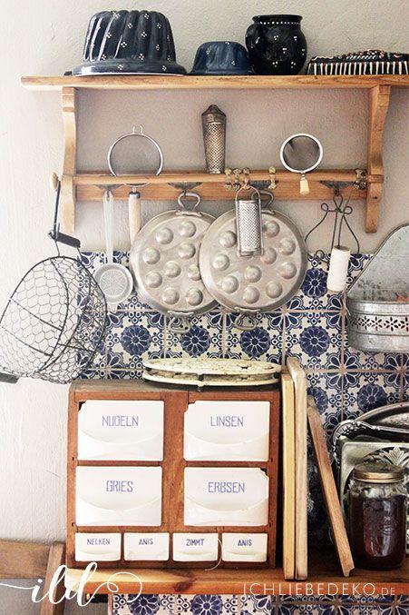 rustikale-Landhausküche-Details