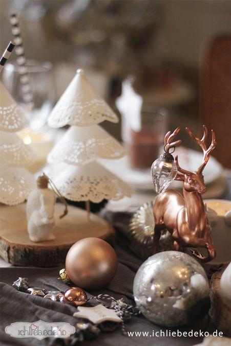 rustikale_Weihnachtstischdeko