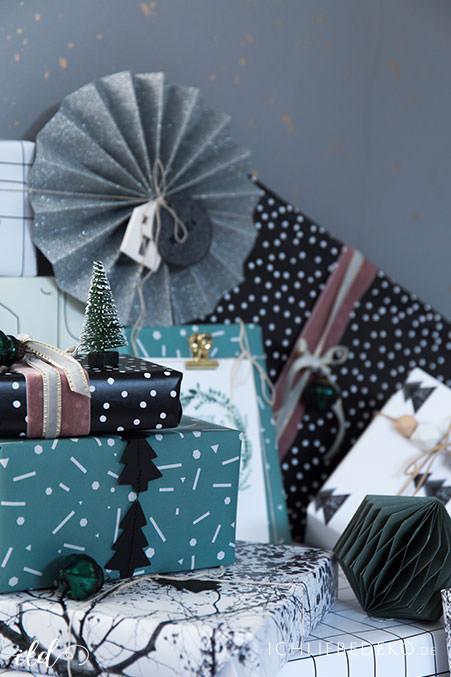kreative weihnachtsgeschenkverpackung 3 trendy ideen ich liebe deko. Black Bedroom Furniture Sets. Home Design Ideas