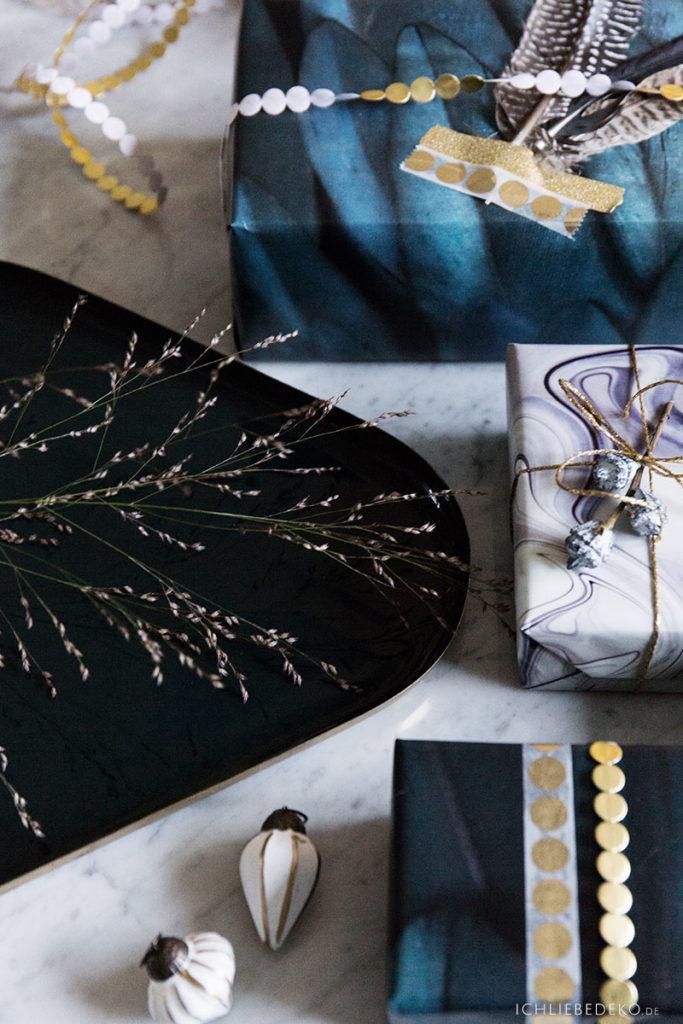Weihnachtsgeschenke edel und modern verpacken