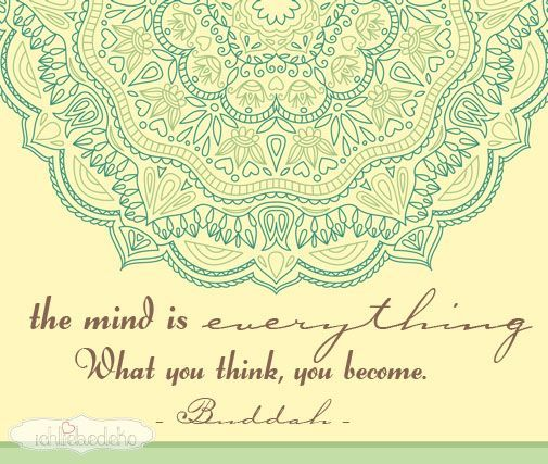 your mind is everything